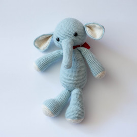 Toy Elephant. Crochet elephant for children. Soft toy Elephant