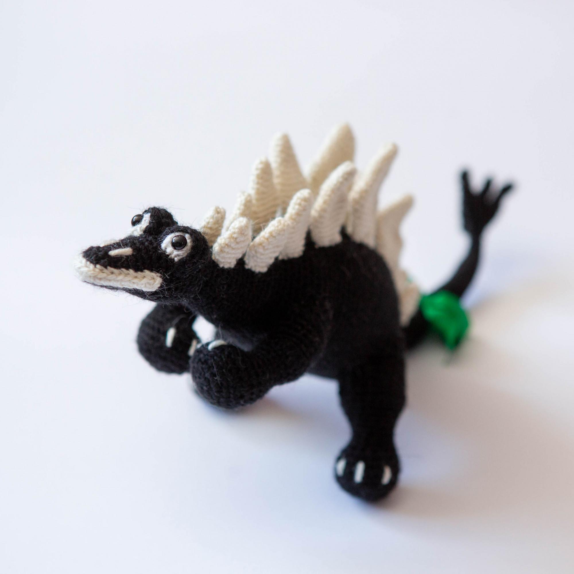 Dinosaur soft toy. Crochet Dinosaur Jurassic Park