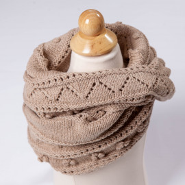 Shawl-scarf for the girl. Beautiful accessory for little fashionistas