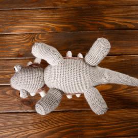 Dinosaur toy. Dinosaur crochet for kids