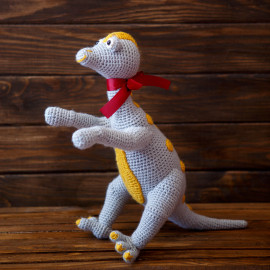 Sun Dot Dino Stuffed Toy For Kids Toy For Sleeping