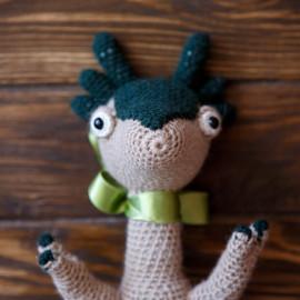 Designer Toy Pre Historic Era Crochet Tilda Doll