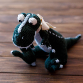 Green Rex Handmade Gift Stuffed Toy