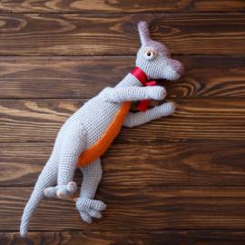 Crochet Dinosaur Prehistoric Stuffed Dino Toy
