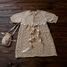 Boy Knit Clothes Vintage Robe Set Infant