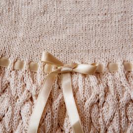 Seamless Baby Dress Baby Knit Dress 6-9 months